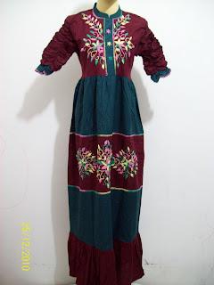 Model Baju Gamis Muslim Terbaru 2013 Share All Info