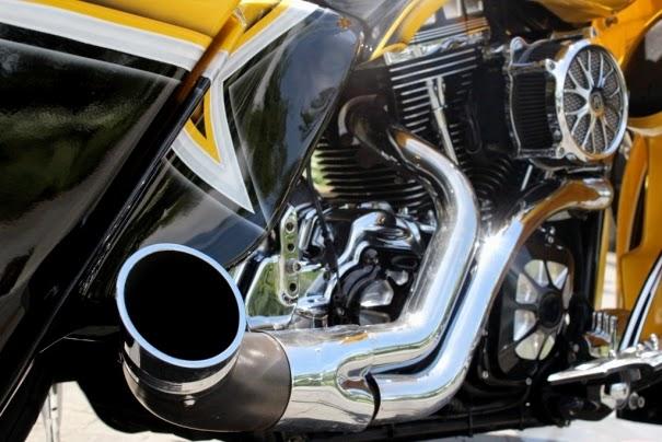 Modifikasi Motor Harley Davidson Road Glide Super Keren