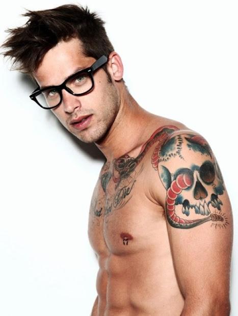 tattoos men shoulder
