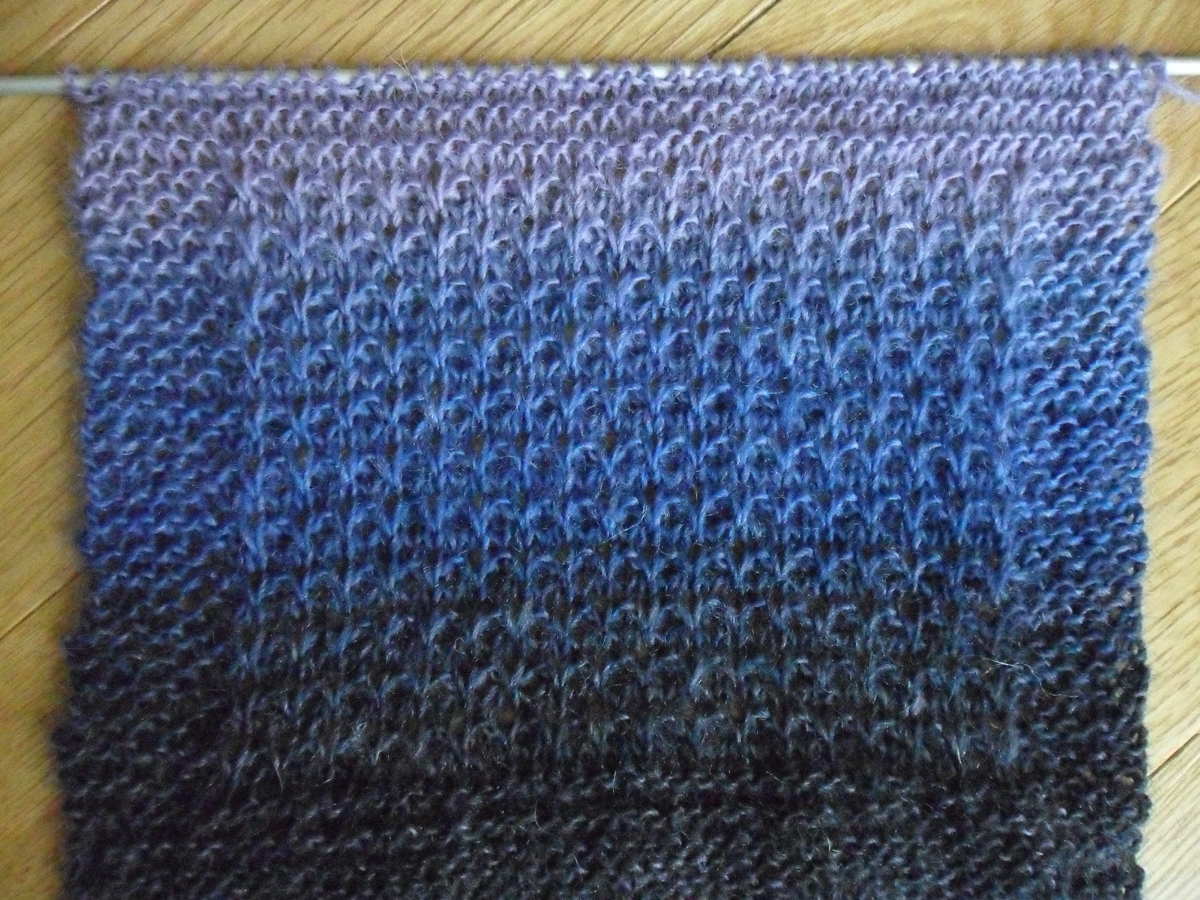 Grandma Cocos Designs: Papa Bear Sampler Scarf Knit-along - Week #5
