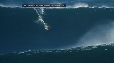 Surfer Garrett McNamara rides world's biggest wave in Nazare Canyon, Portugal - Travel Europe Guide (picture 2)