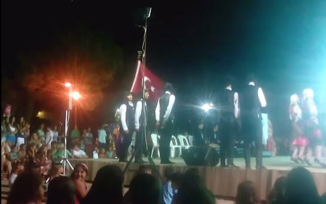 H τούρκικη σημαία κυμάτισε στο Μοριά 200 χρόνια μετά τον Ιμπραήμ! Αίσχος τουρκοπροσκυνημένοι προπαγανδιστές!