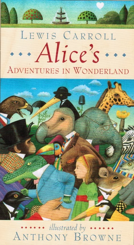 First Illustrated Book Cover : Pictures from an old book quot alice s adventures in