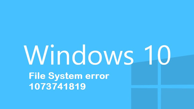How to fix File System error 1073741819?