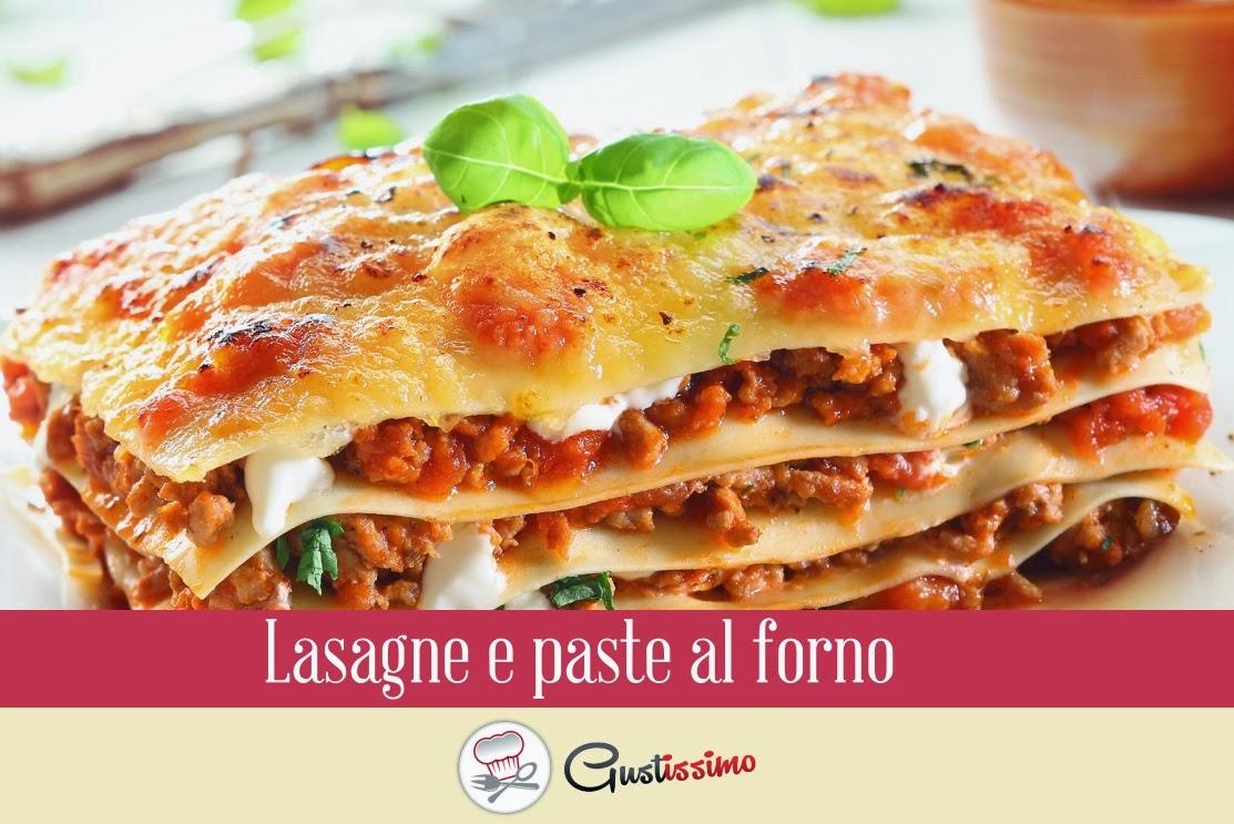 ricettario pdf - lasagne a paste al forno