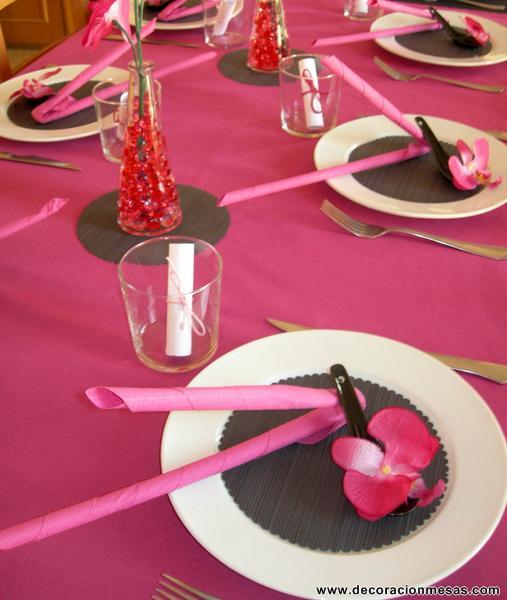 Decoracion de mesas mesa para un 50 cumplea os - Decoracion para 50 cumpleanos ...