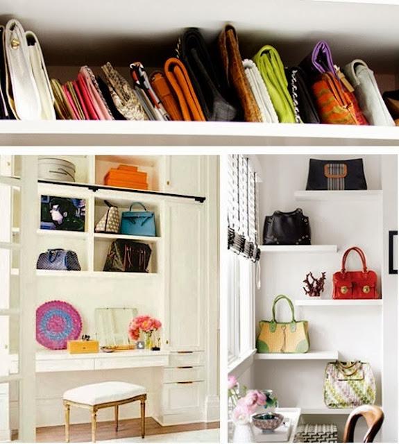 31 Days of Spontaneous Organizing - Day #6: Closet Shelves