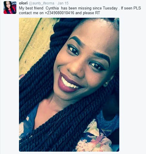 Girl Comes For The Lady Who Reported Her As Missing On Twitter (Screenshots)