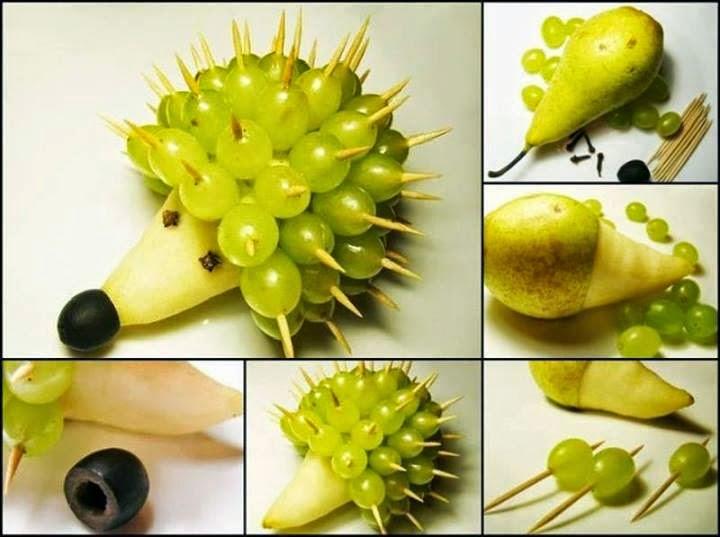Из чего можно сделать поделки фрукты 14