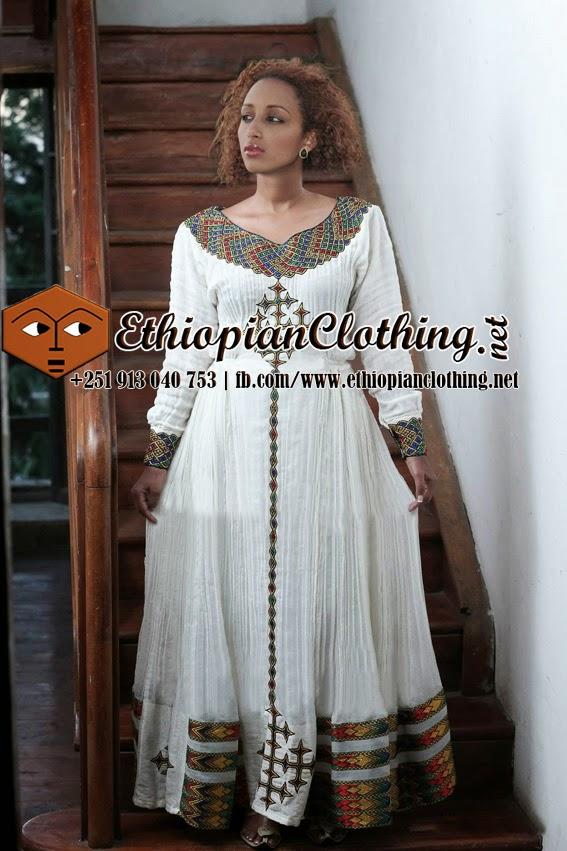 Traditional ethiopian wedding dresses high cut wedding for Ethiopian wedding dress designer