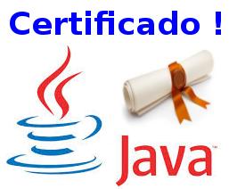 Clique e obtenha sua certificação de programador Java!