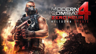 Download Gameloft Modern Combat 4 Zero Hour Meltdown Update for Apple & Android