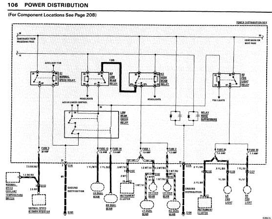 BMW_635CSi_1985_WiringDiagrams repair manuals bmw 635csi 1985 electrical repair  at soozxer.org