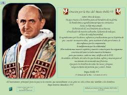 Oración por la Paz de Paulo VI