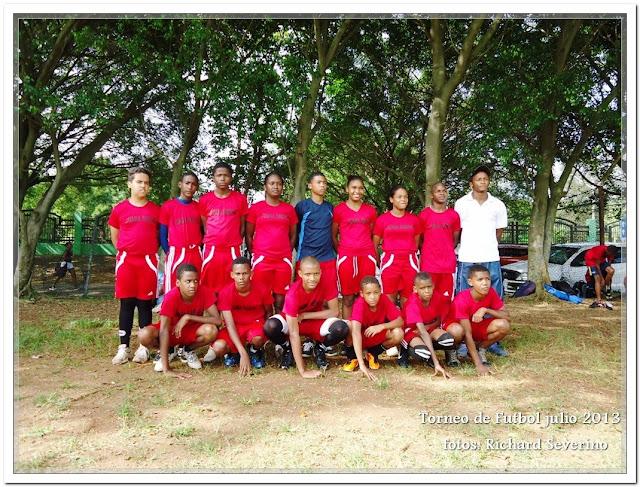 Equipos infantiles Torneo de la Provincia de Santo Domingo