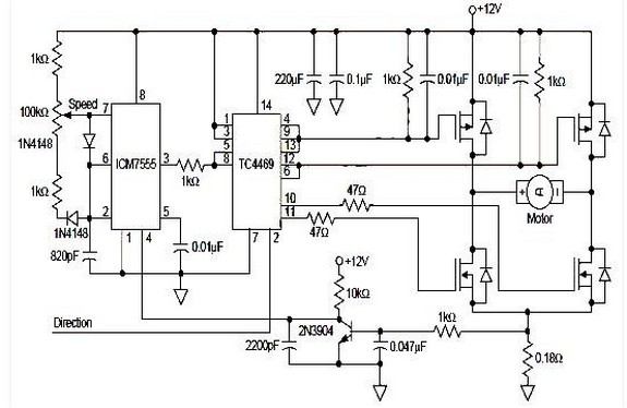 latest mosfet h bridge driver ic