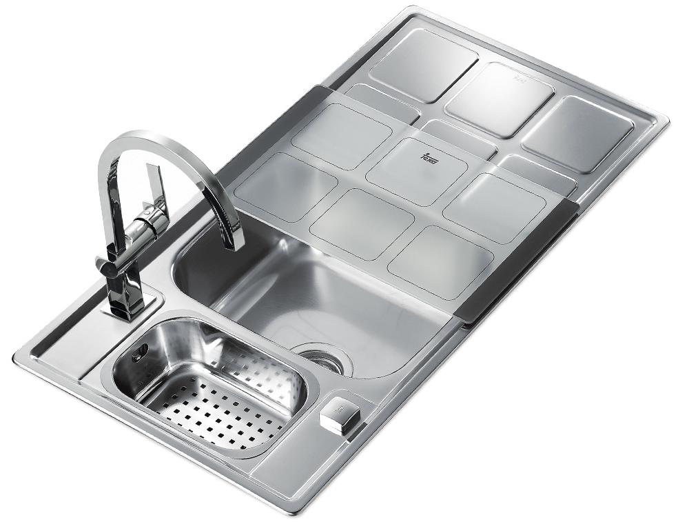 Como en casa en ning n sitio c mo elegir el fregadero y - Cocina encimera teka 4 platos ...