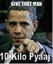 Give That Man 10 Kilo Pyaaj