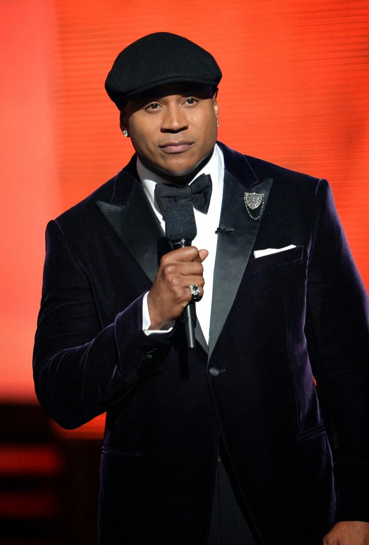 LL Cool J in newsboy cap