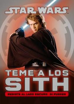 Portada Star Wars: Teme a los Sith