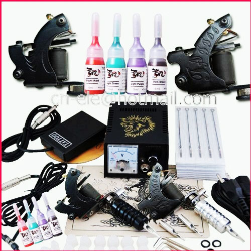 Tattoo supplies cheap tattoo kits for beginners for Difference between shader and liner tattoo machine