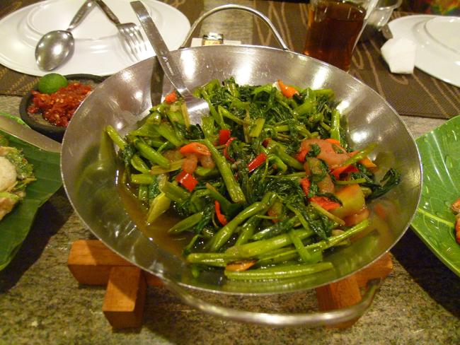 Kangkung verdura