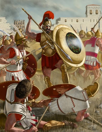 macedonia documents  ancient warriors