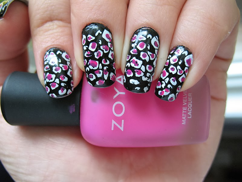 Zebra and Cheetah Nail Designs | Nail Art Ideas 101