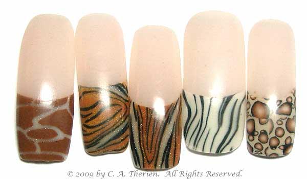 The Astounding Zebra print nail designs Pics