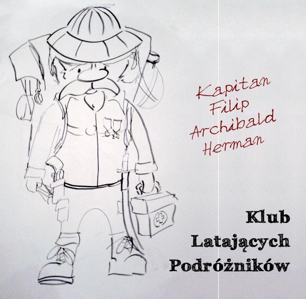 Klub latających podrózników, Kapitan Herman MEK, Baśnie na warsztacie, Mateusz Świstak