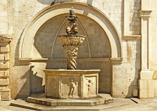 Pequeña fuente de Onofrio de Dubrovnik