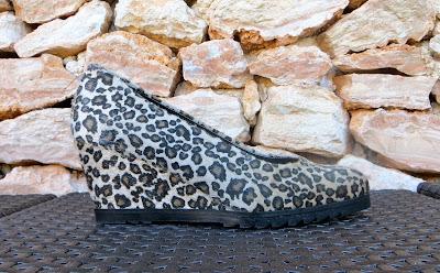 bailarina cuña print leopardo