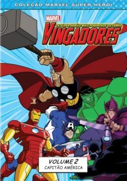 ving2 Os Vingadores   Capitão América!   Volume 2   DVDRip AVI Dublado + RMVB