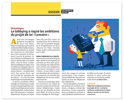 Clod illustrations Gazette des Communes groupe Moniteur