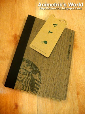 2012 Starbucks Planner with bookmark