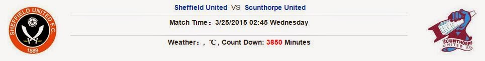 Sheffield United vs Scunthorpe United (Hạng 3 Anh, 02h45 ngày 25/03)