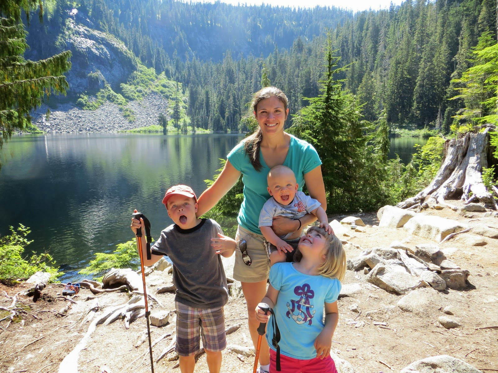 Our Family: Camping with Nana on the Mountain Loop Highway