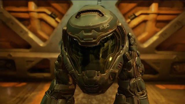 e3 2015 Doom helmet