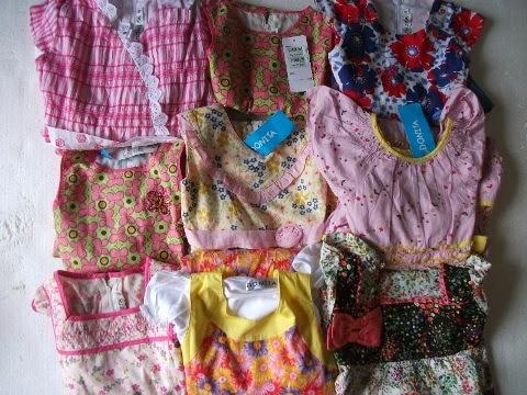Rafikids grosir baju anak branded grosir dress donita Baju gamis anak aliza