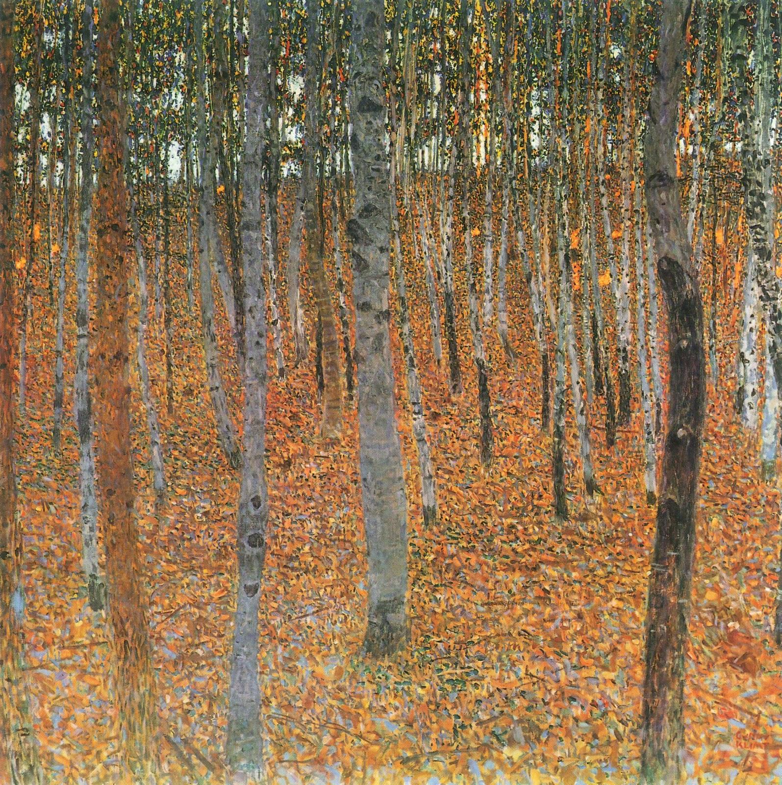 Buchenwald I (Gustav Klimt, 1902)