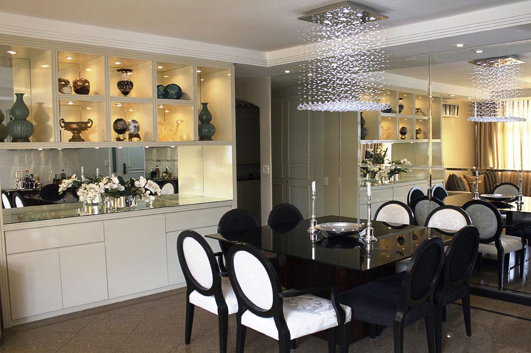 Buffet Sala De Jantar Preto ~ Casa de Arquiteto Conheça o cantinho das blogueiras FHits