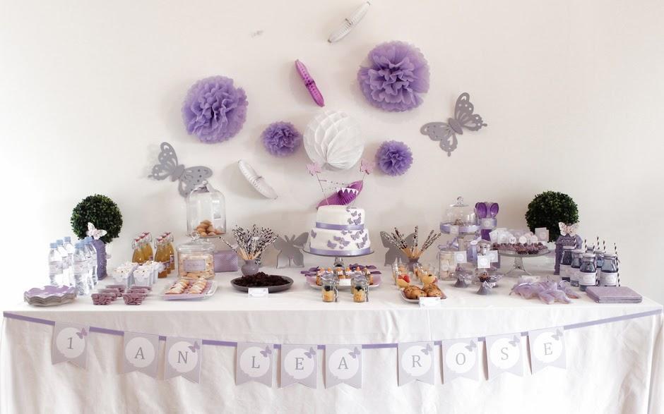 Assez Sweet table Anniversaire {Thème Papillon} - Le Candy Bar FS95