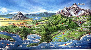 Menganalisis Simbol Simbol Pada Peta dan Bentuk Bentuk Muka Bumi