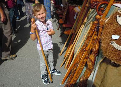 Asturias con niños: XV Mercáu tradicional de Cenera