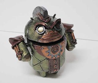 vinyl droid toy