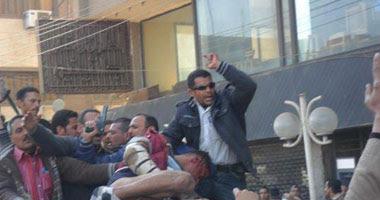 امن بنى سويف يقتحم منطقة الغمراوى بحثاً عن قاتل شهيد الشرطة