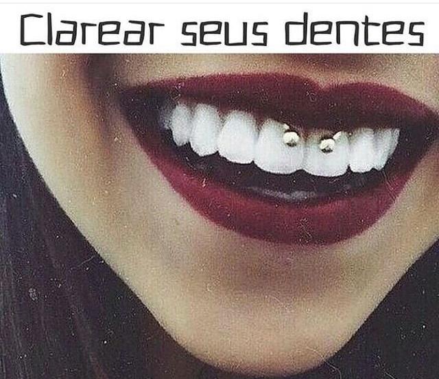 Receita Caseira Para Clarear Seus Dentes Blablabla