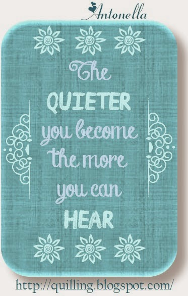 The Quieter you Become the More you can Hear free Printable