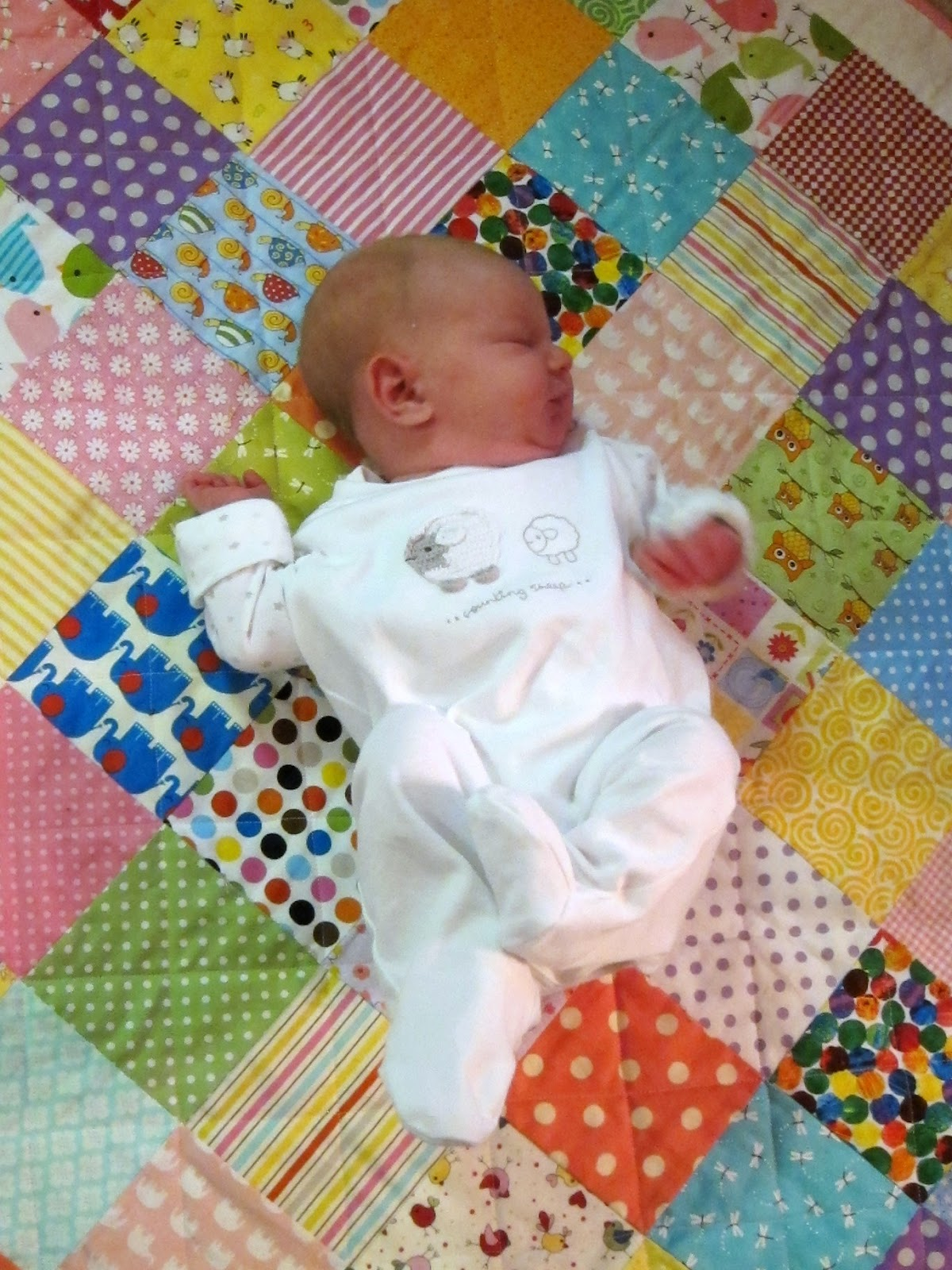 Make a patchwork quilt in a weekend – The Pink Button Tree : sewing patchwork quilts - Adamdwight.com
