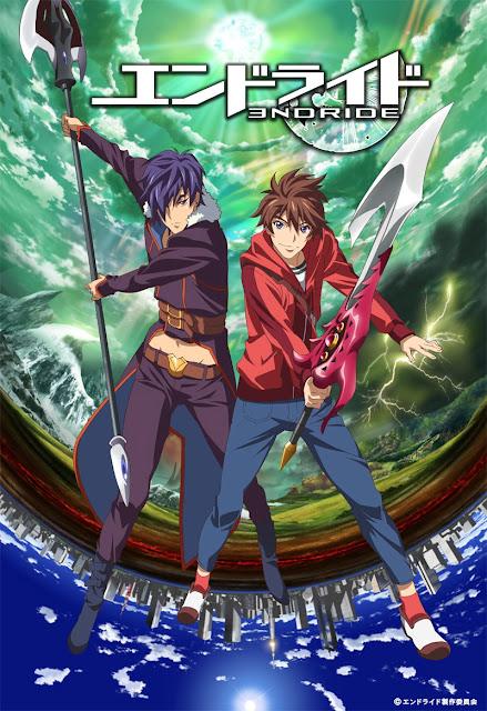 Plakat promujący anime Endride